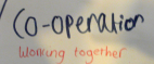 Co-operation